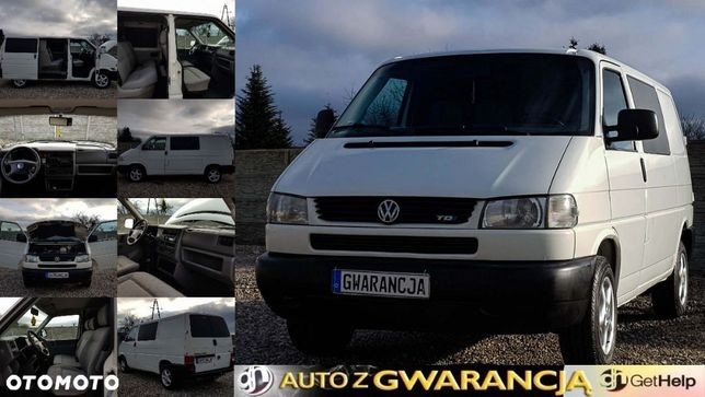 Volkswagen Transporter  2002*2.5*ZAREJESTROWANY*Elektryczne szyby*Alufelgi*Zadbany*