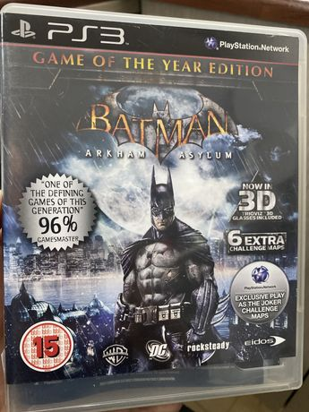 Batman Arkham Asylum / PS3