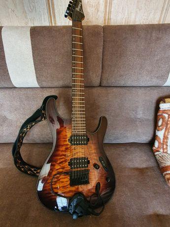 Gitara Ibanez S seria plus wzmacniacz i efekt