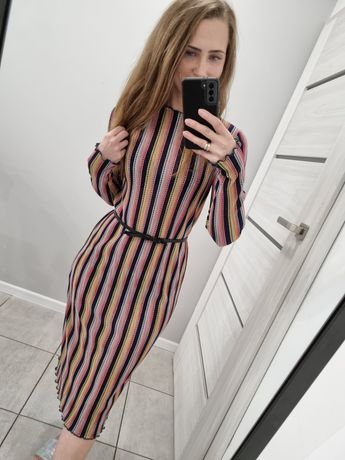 Sukienka Zara paski