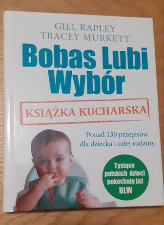 """Książka """"Bobas Lubi Wybór"""" Nowa"""