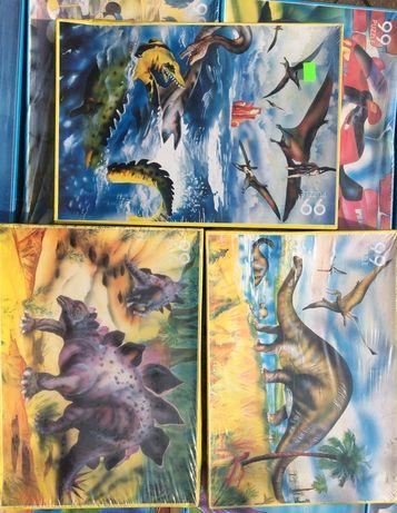 Dinozaur zestaw