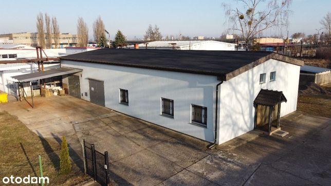 Budynek warsztatowo-magazynowy z częścią biurową.