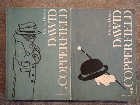 Książka. Dawid Copperfield. Charles Dickens. Wyd. 1989. Miękka oprawa.