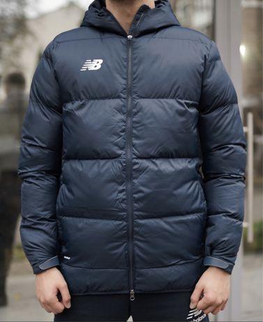 Оригинадьная курточка пуховик new balance nike adidas