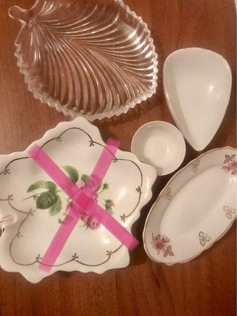 Посуда тарелки салатницы селедочницы судок