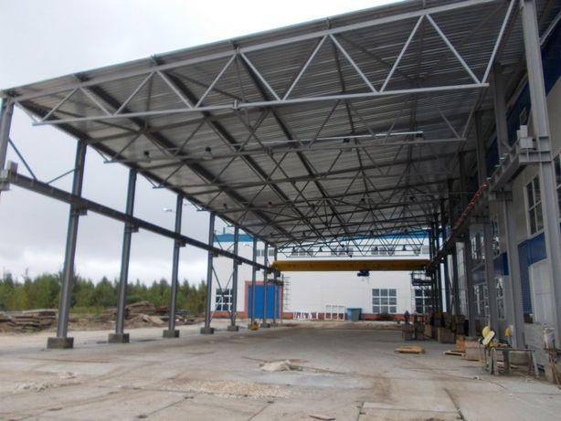 БМЗ Ангар Склад Строительство. Построить быстровозводимое здание