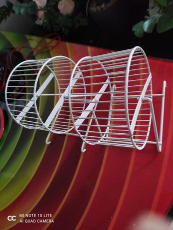 Solidne kółka metalowe dla gryzoni