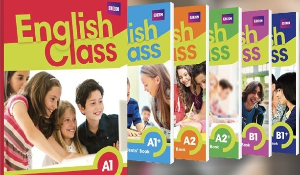 English Class A1 A1+ A2 A2+ B1 B1+ książka nauczyciela +testy
