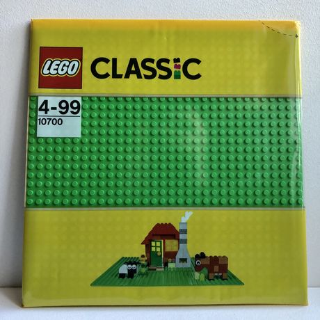 Базовая пластина LEGO Classic Зеленая 10700