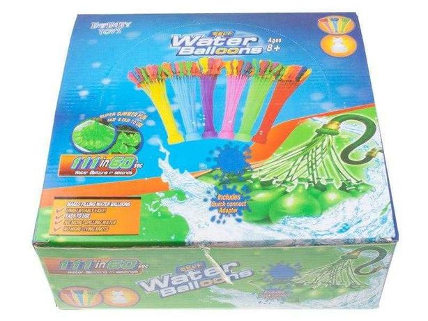 Набор водяных шариков бомбочек для водных битв Buncho Balloons 1295 шт