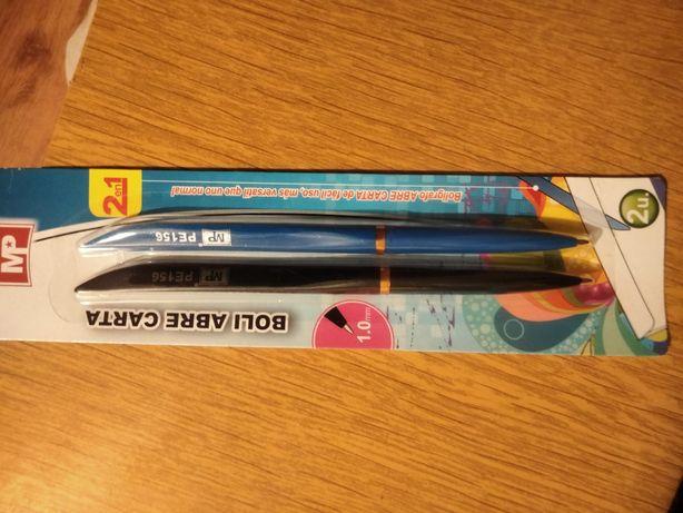 Długopisy z nożem do papieru