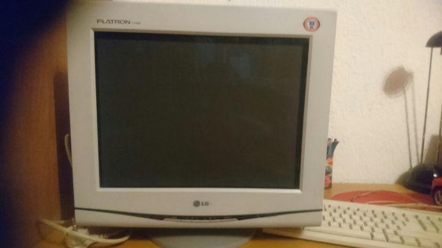 Monitor Lg 15 +klawiatura