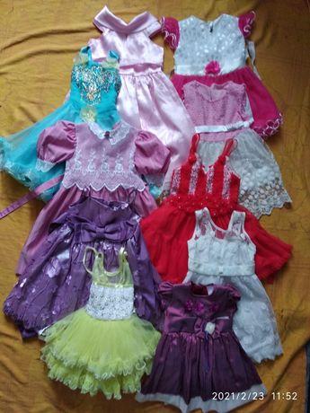 Нарядное, праздничное платье, 2 - 5 лет