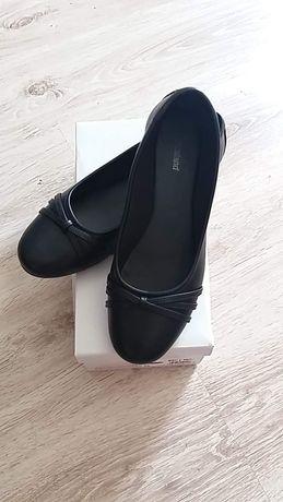 Czarne baleriny nowe