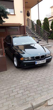 BMW e39 Benzyna Super Stan Bez Rdzy ! Klimatronik Navi bluetooth