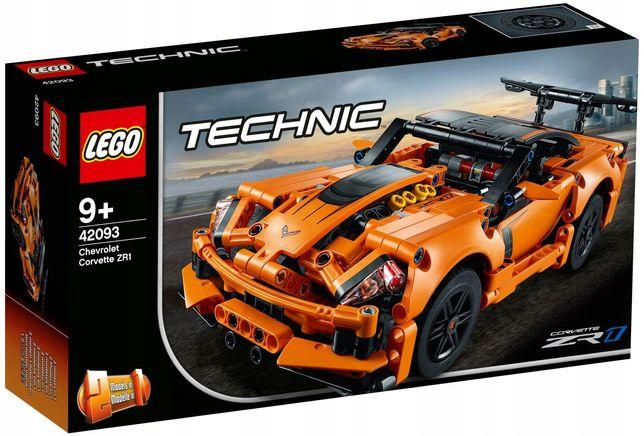 Lego Technic Chevrolet Corvette Zr1 42093 NOWY