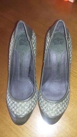 Sapatos tweed