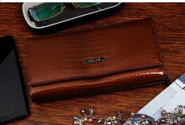 Nowy portfel skórzany Julia Rosso