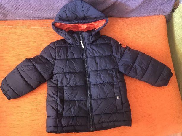 отличная куртка  h&m зима 3-4 104