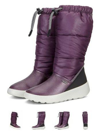 Сапожки Ecco Ukiuk kids зимние сапоги теплі чобітки ботинки