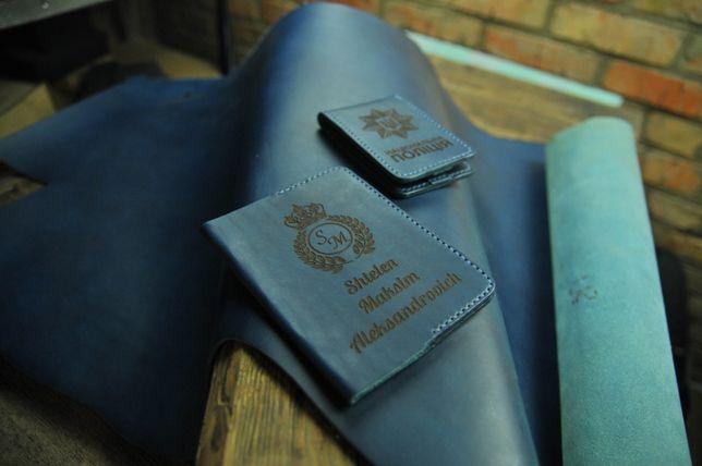 Обложка на паспорт.Именная,ручная работа.