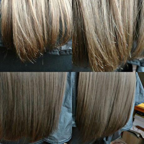 Полировка волос+стрижка концов