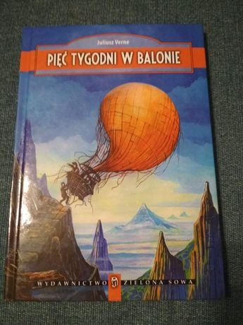 Pięć tygodni w balonie - J. Verne