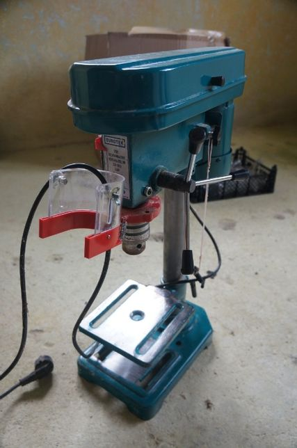 Wiertarka stołowa kolumnowa Eurotek DP201 350 W 230V 5 biegów fi 16mm