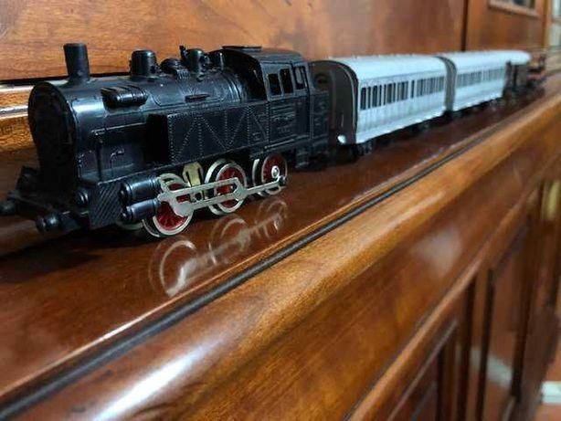 Comboio miniatura IMA ITALY (ano 1970) brinquedo antigo com 50 anos