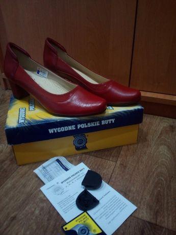 Оригинал туфли кожаные KORZENIOW(кожа мягкая) ортопедические стельки .