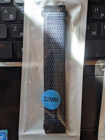 Ремешок нейлоновый 22мм для Samsung Gear S3/S2 Frontier Watch S2/S3 46