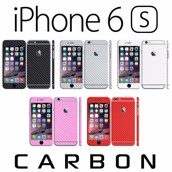 Плівка під Карбон Метал Шкіру Apple iPhone 6 6S 6S Plus пленка кожа Львов - изображение 1