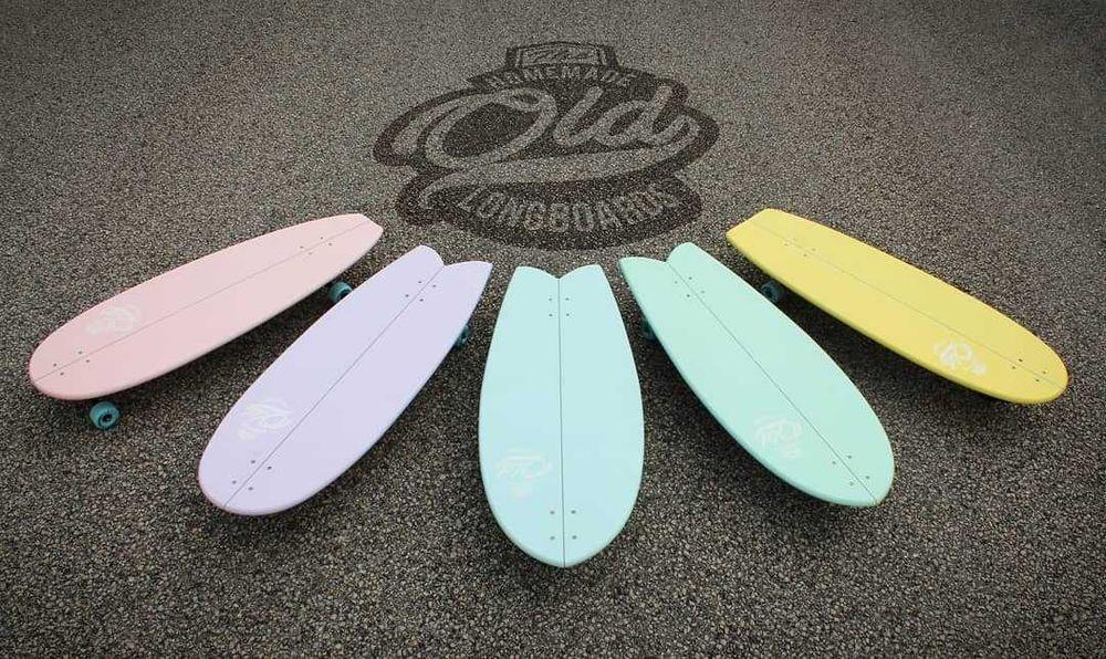Old Longboards skate simulador de surf Tavarede - imagem 1