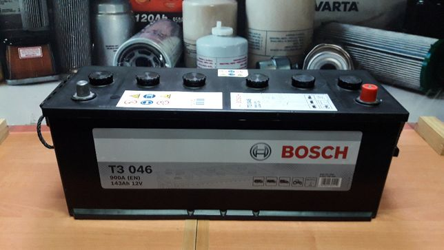 AKUMULATOR BOSCH 143AH New Holland Case JX90 143Ah TD5030 TD5040 TD501