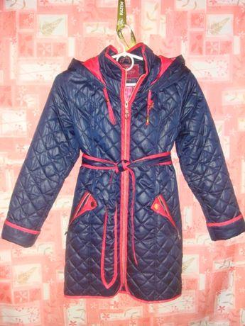 Дешево Пальто демисезонное нуи вери, д/девочки, р 34+подарок+футболка