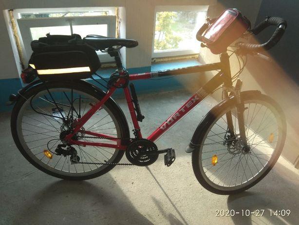 Велосипед Vortex Travel 400, алюм, 28 колеса, 21 скорость