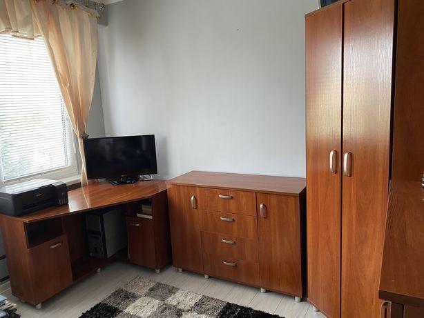 Komplet mebli szafa komody biurko półki