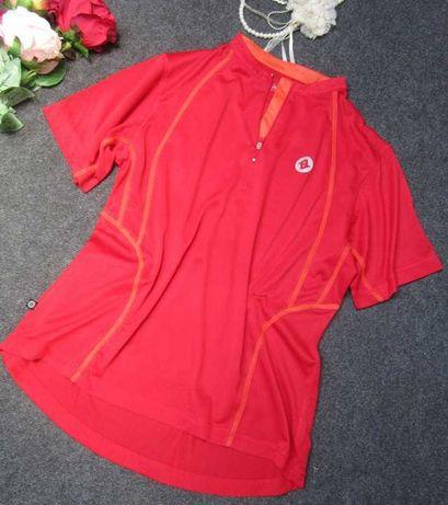 6) Sportowa koszulka czerwona 44-46