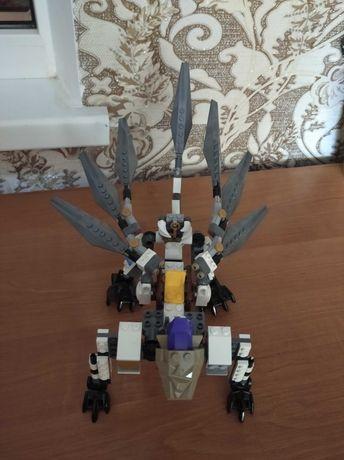 Лего Lego NINJAGO 70748 Титановый дракон