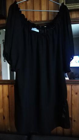 Bluzka tunika hiszpanka xxl