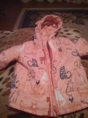 продам весняну -осінню дитячу куртку для девочки