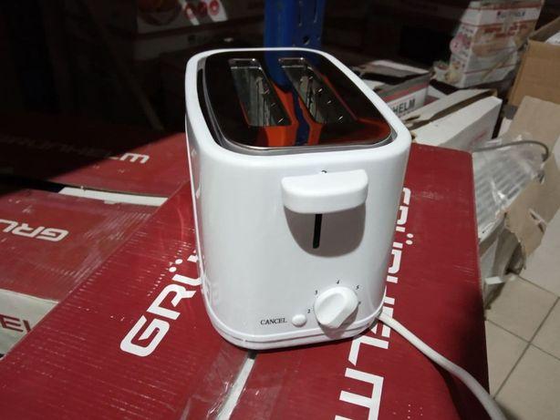 Тостер - GWD008 (белый) 700 Вт GRUNHELM