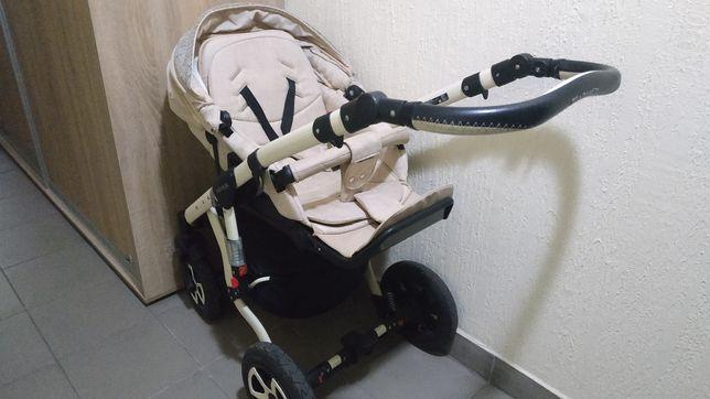 Детская коляска 2 в 1Adamex Avila ECO LEN