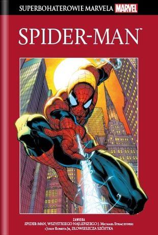 Komiksy 1 do 9 z kolekcji Superbochaterowie Marvela.