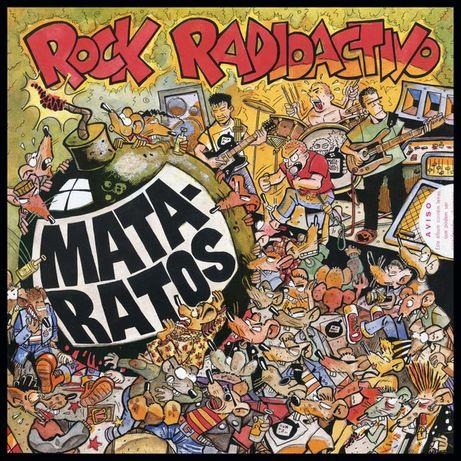 Mata Ratos - Rock Radioactivo CD original 1990 EMI VC