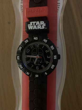 Relogio Swatch-Flik Flak Star Wars