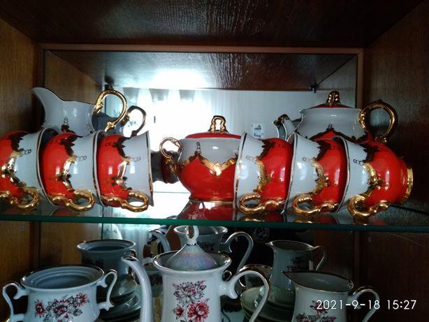 Продам чайний сервіз Бутон,чайний сервіз Льонок, чайний сервіз Берізка