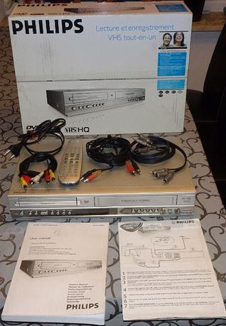 Philips DVP 3100v/2 Odtwarzacz VHS/DVD nagrywarka VHS