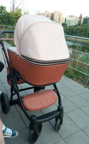 Коляска Broco Smart Textile 2 в 1